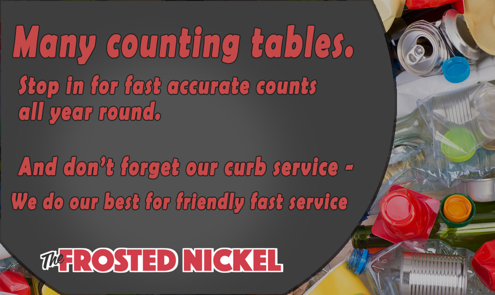 Frosted Nickel Friendly Service